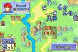 Fire Emblem Game Boy Advance The beginning of a complex later-game battle