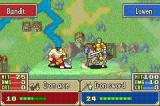 Fire Emblem Game Boy Advance Getting ready to attack the enemy