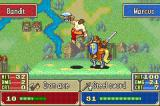 Fire Emblem Game Boy Advance Getting hit by the enemy