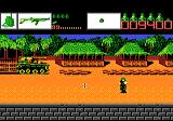 Alien Brigade Atari 7800 Watch out for tanks and brainwashed soldiers