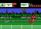 Alien Brigade Atari 7800 The aliens keep getting tougher...