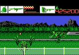 Alien Brigade Atari 7800 Watch out for that guy right in front of you...
