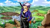 Dragon Ball Z: Shin Budokai - Another Road PSP And Trunks turns out to be a big badass.