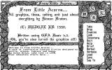 From Little Acorns Atari ST Info screen