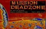 Mission Deadzone Atari ST Loading screen