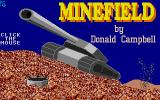 Minefield Atari ST Title screen