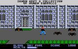 Midnight Mutants Atari 7800 Giant spiders outside the mansion!