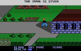 Midnight Mutants Atari 7800 The door to the church is stuck