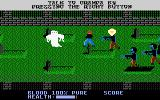 Midnight Mutants Atari 7800 The graveyard is spooky