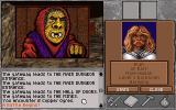 Shadow of Yserbius DOS <b>Ogres</b> in the first level?  Character portrait shown.