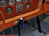 Roaring Thirties Windows Stinson Gullwing, floats version, NYP livery, virtual cockpit view.