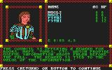 Pool of Radiance Commodore 64 Receiving <b>commission</b> from city council.