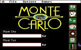 Monte Carlo Apple IIgs Main menu