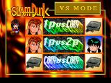 Slam Dunk: I Love Basketball SEGA Saturn Versus mode.