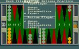 Club Backgammon Atari ST Player options