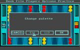 Club Backgammon Atari ST Changing colors