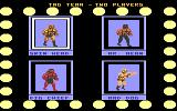 Title Match Pro Wrestling Atari 7800 Select the players and game options