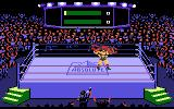 Title Match Pro Wrestling Atari 7800 My player is getting tossed around the ring