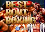 Best Bout Boxing Arcade Start screen