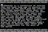 Magical Myths Apple II Introduction