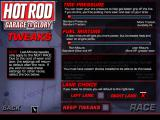 Hot Rod: Garage to Glory Windows Before each race, you can make tweaks to your car