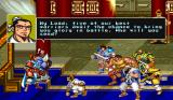 Warriors of Fate Arcade The five greatest warriors of the lands