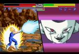 Dragon Ball Z: Shin Butōden SEGA Saturn Frieza just smiles at pointless energy blasts.