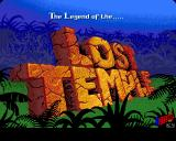 The Legend of the Lost Temple Acorn 32-bit Title screen