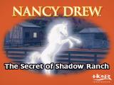 Nancy Drew: The Secret of Shadow Ranch Windows Title screen