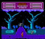 A Nightmare on Elm Street NES Dealing with creatures in Nightmare mode.