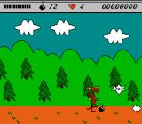 The Adventures of Rocky and Bullwinkle and Friends NES Avoid the bombs