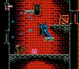 Batman: Return of the Joker NES Batman shooting wildly at an opponent.