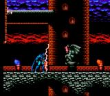 Batman: Return of the Joker NES Gargoyle uses lightning on Batman.