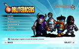 Obliteracers Windows Main menu