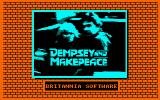 Dempsey and Makepeace Amstrad CPC Title screen