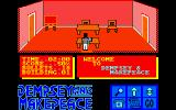 Dempsey and Makepeace Amstrad CPC Starting location