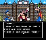 Disney Adventures in the Magic Kingdom NES Introductory story gives player objectives