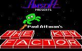 The Key Factor Amstrad CPC Title screen