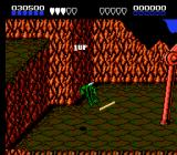 Battletoads NES Toad freaks when he sees giant robot.
