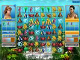 Tropical Fish Shop: Annabel's Adventure Windows Going head-to-head with an AI-controlled player in a diving competition stage.