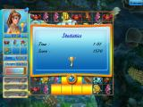 Tropical Fish Shop: Annabel's Adventure Windows Levels are scored according to how long it took to reach the goals.