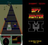 Spy Hunter II Arcade Motorcyclists and enemy chopper