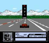 Al Unser Jr. Turbo Racing NES Canada Time trial counting down