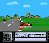 Al Unser Jr. Turbo Racing NES Wiping out in Brazil