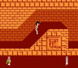 "Athletic World NES The event is ""Underground Running"""