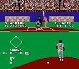 Bases Loaded 3 NES The manager signals for the lefty