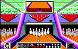 Dynamite Bowl PC-88 Choosing direction and power of the throw