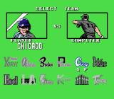 Bases Loaded 4 NES Picking teams for yourself and the computer