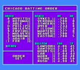 Bases Loaded 4 NES Setting your lineup