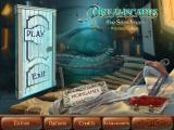 Dreamscapes: The Sandman (Collector's Edition) Windows Title and main menu